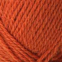 Greener Wool Mergelland Rust Detail